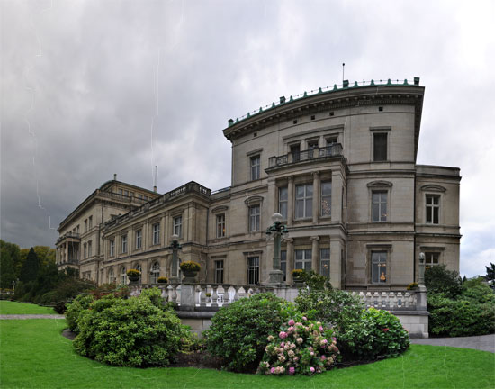 Villa Hügel in Essen - Panorama